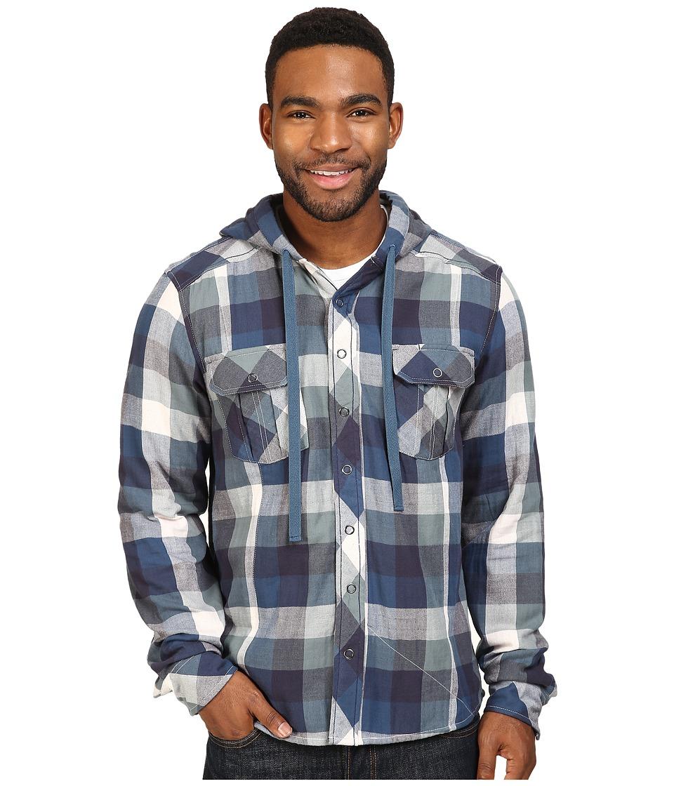 Ecoths - Rhett Hoodie (Mallard) Men's Clothing