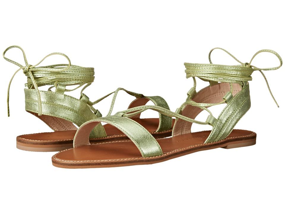 Kristin Cavallari - Belle (Mint Tumbled Leather) Women's Sandals