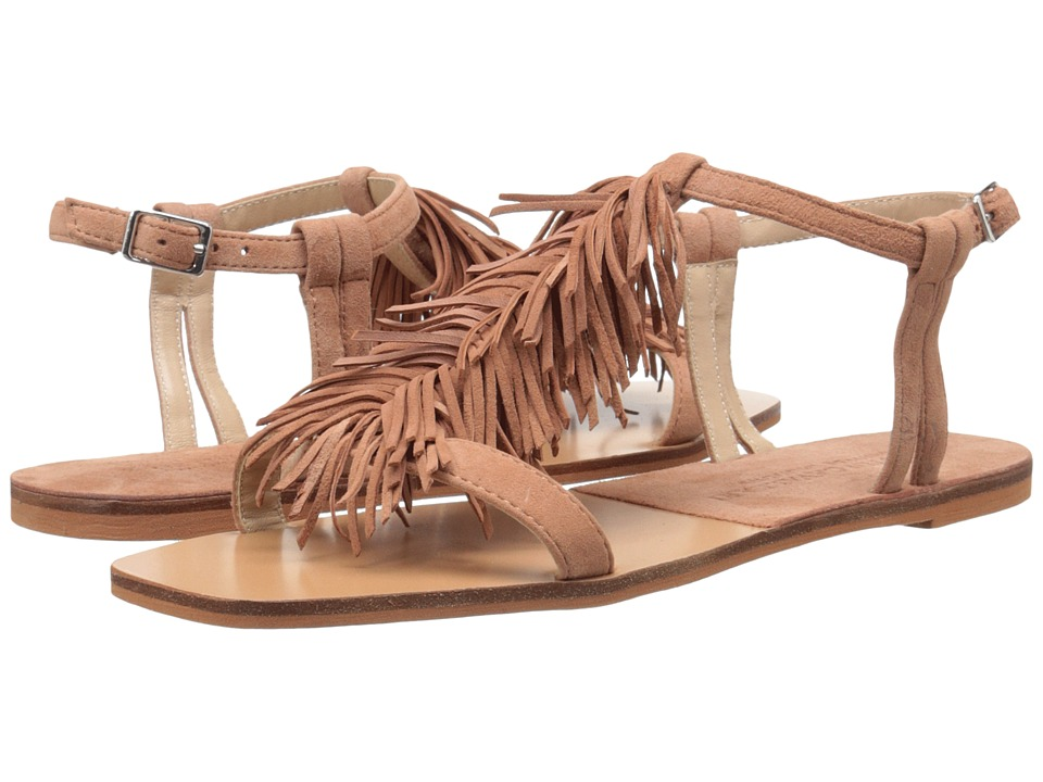 Kristin Cavallari - Tommy Fringe Sandal (Roebuck Kid Suede) Women's Sandals
