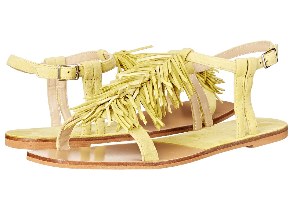 Kristin Cavallari - Tommy Fringe Sandal (Sunshine Kid Suede) Women's Sandals