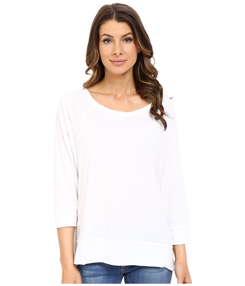 The Beginning Of - Sophia Raglan Tee (White) Women's T Shirt