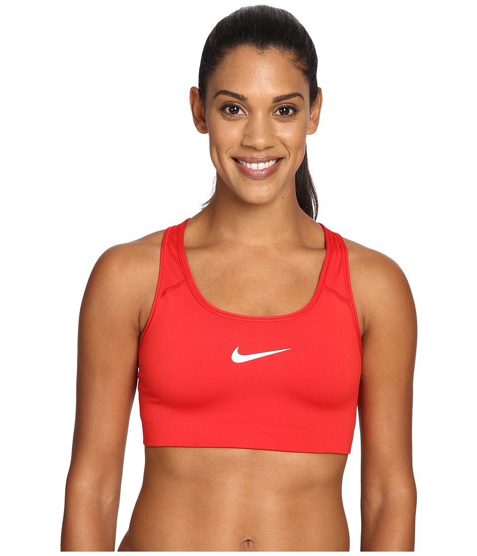 Nike - Pro Classic Swooshtm Sports Bra (University Red/White) Women's Bra