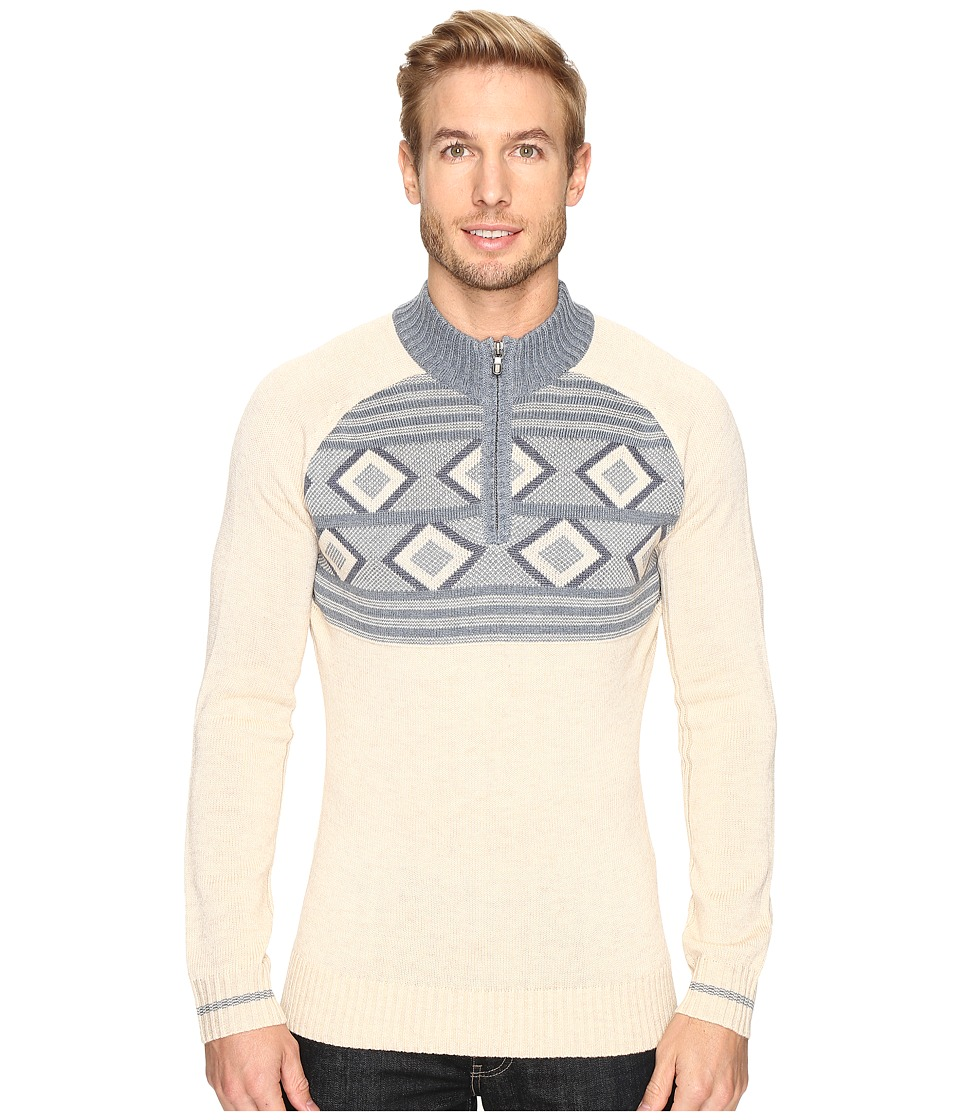 Ecoths Zane Sweater (Heathered Oatmeal) Men