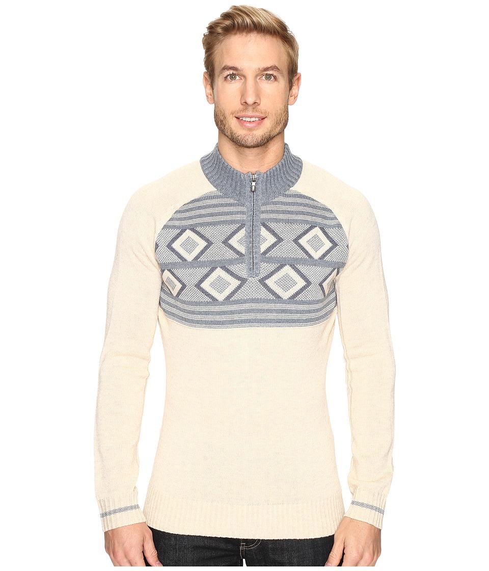 Ecoths - Zane Sweater (Heathered Oatmeal) Men's Sweater