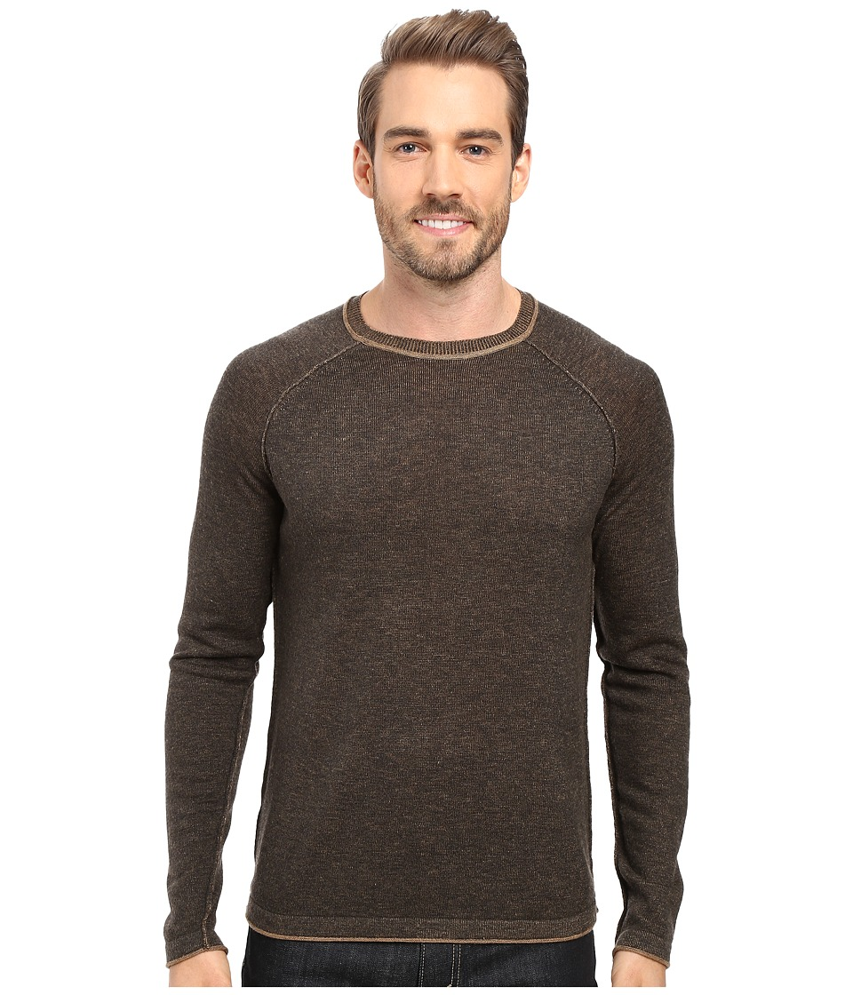 Ecoths - Charlie Sweater (Heathered Tarmac) Men's Clothing