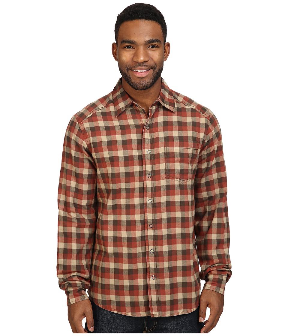 Ecoths Killian Long Sleeve Shirt (Henna) Men