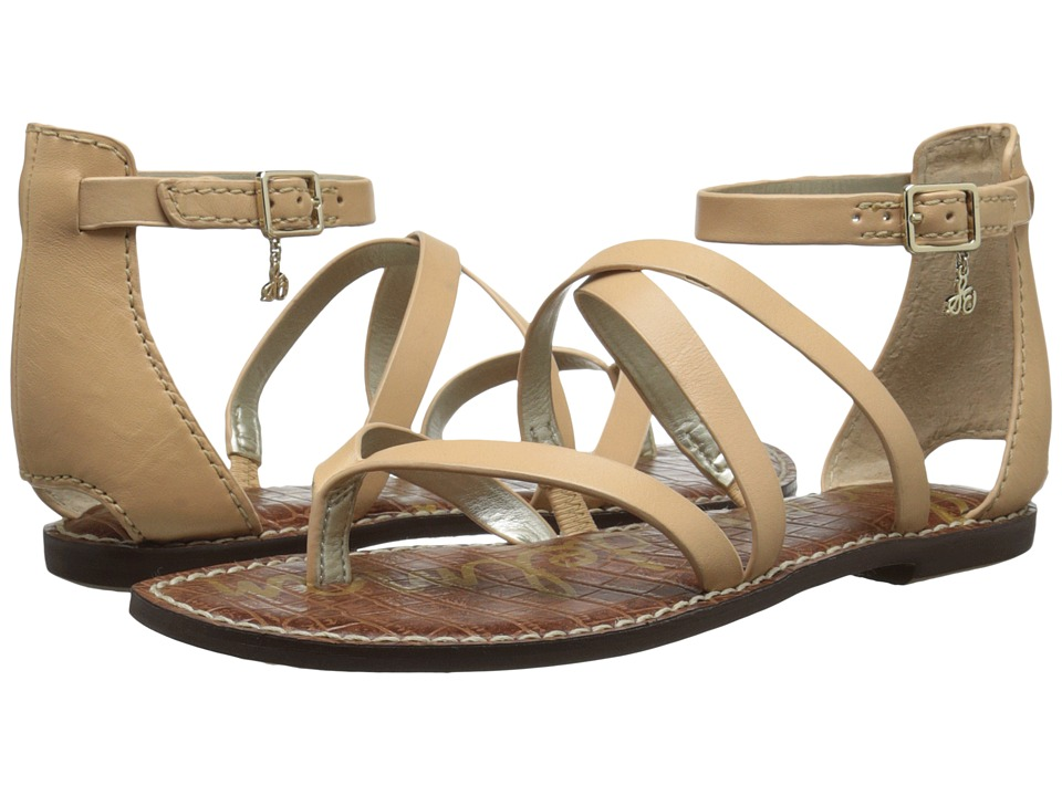 Sam Edelman - Gilroy (Natural Naked Naked Atanado Leather) Women's Sandals