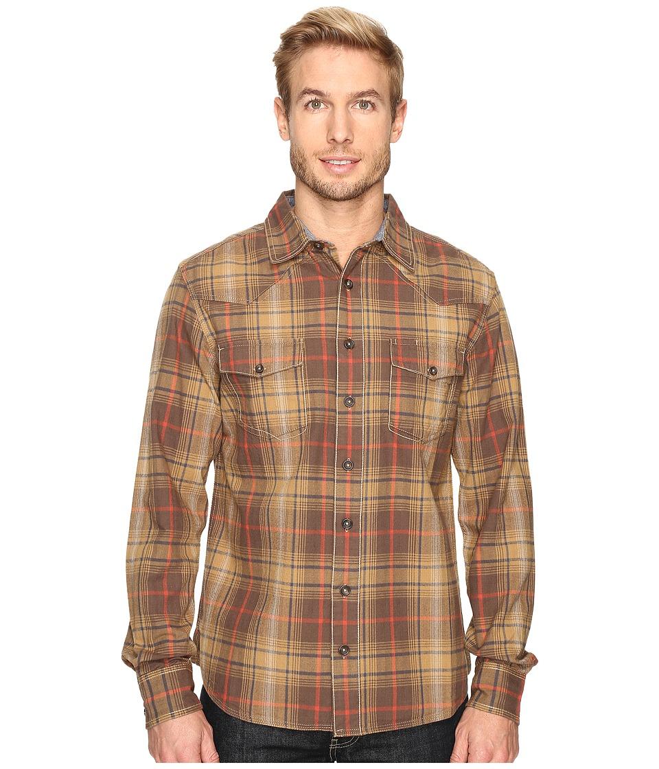 Ecoths Tucker Long Sleeve Shirt (Tarmac) Men