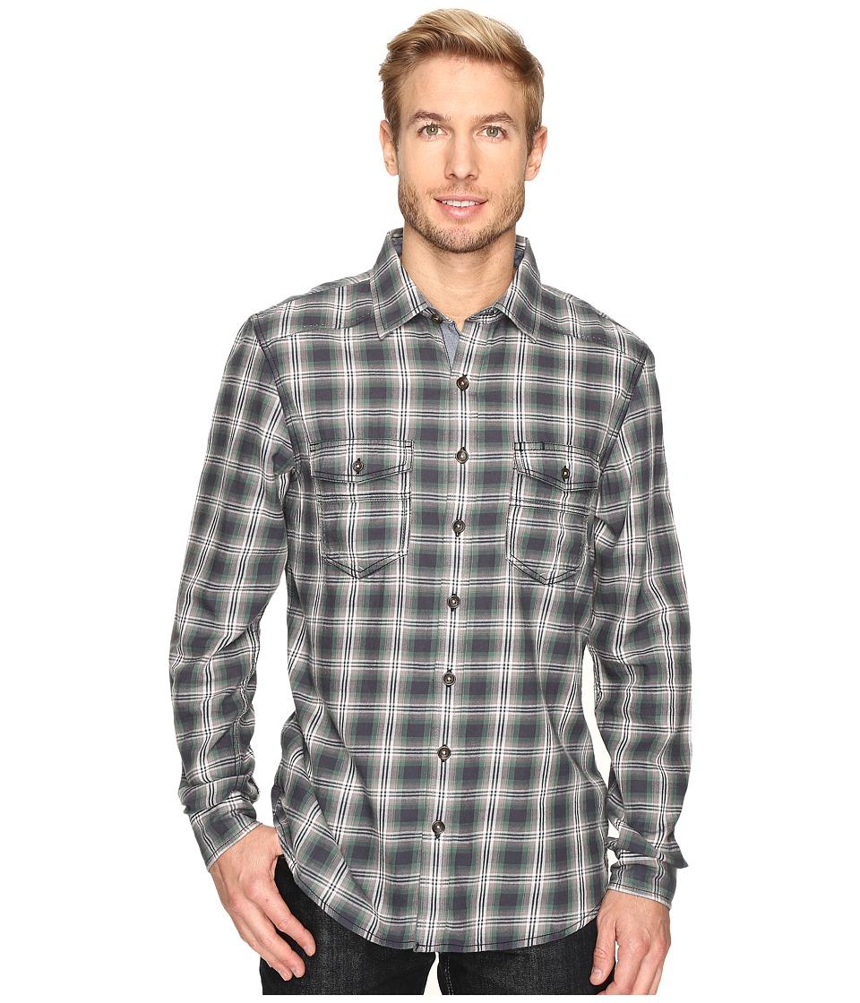 Ecoths Dax Long Sleeve Shirt (Ash) Men