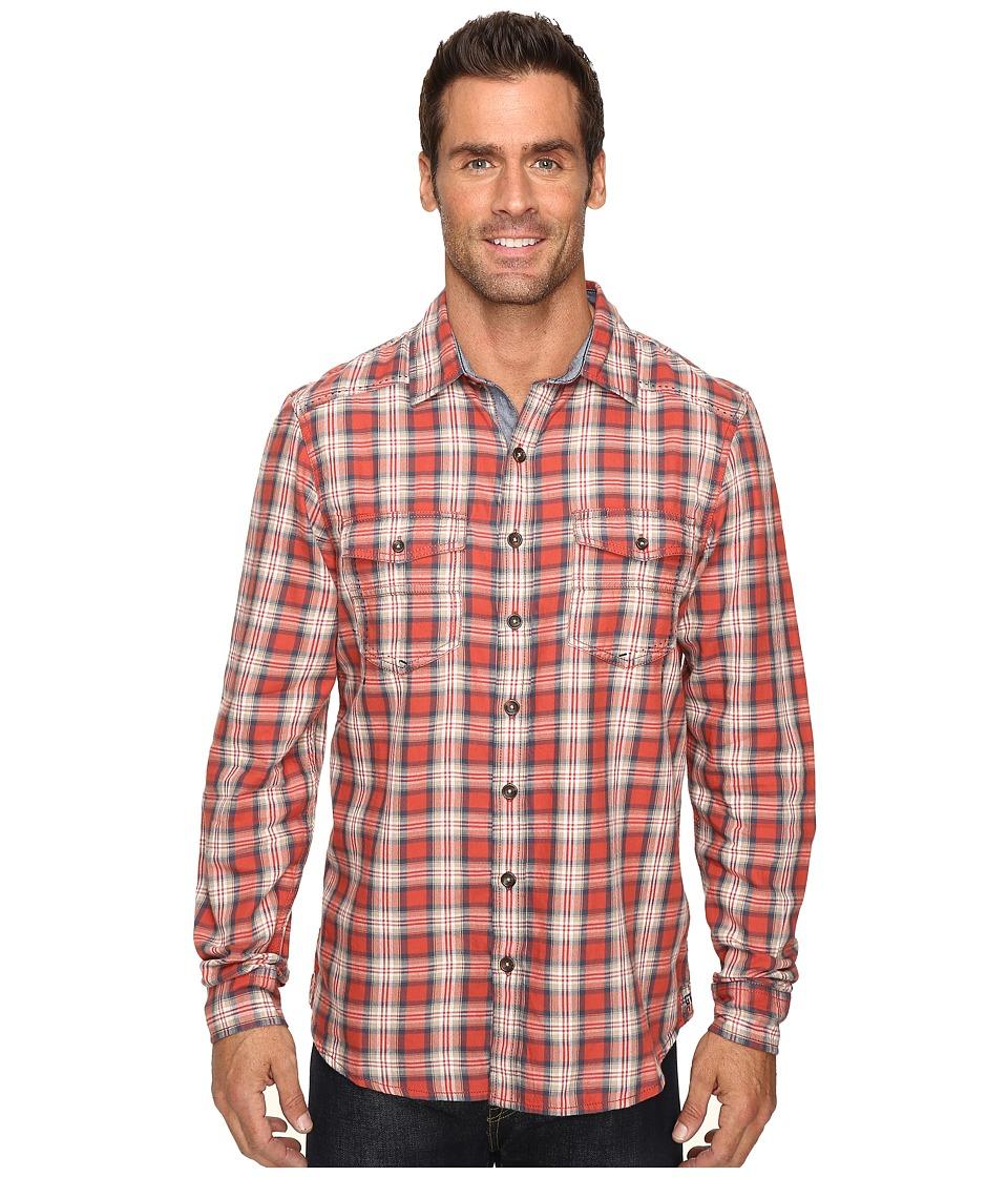 Ecoths Dax Long Sleeve Shirt (Tabasco) Men