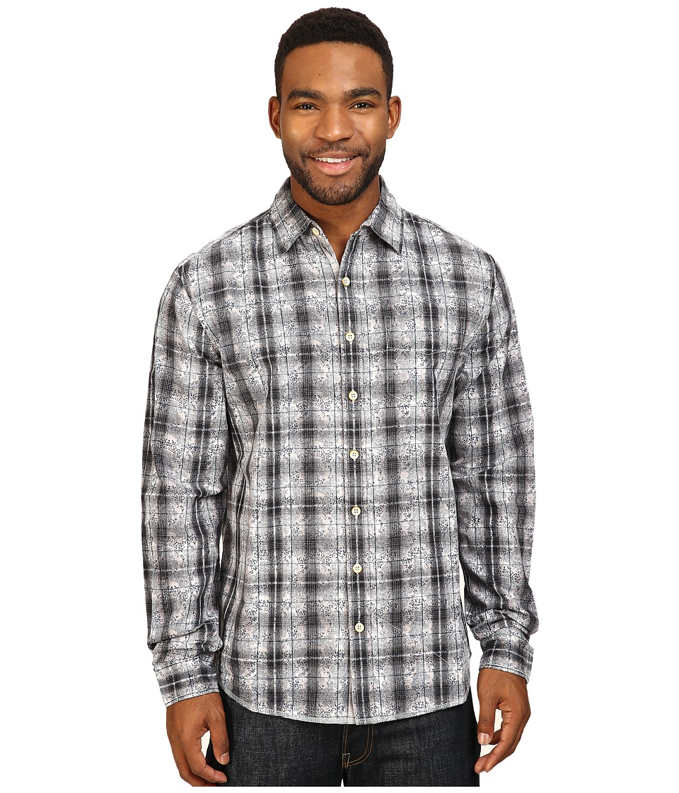 Ecoths - Lawson Long Sleeve Shirt (Black) Men's Clothing