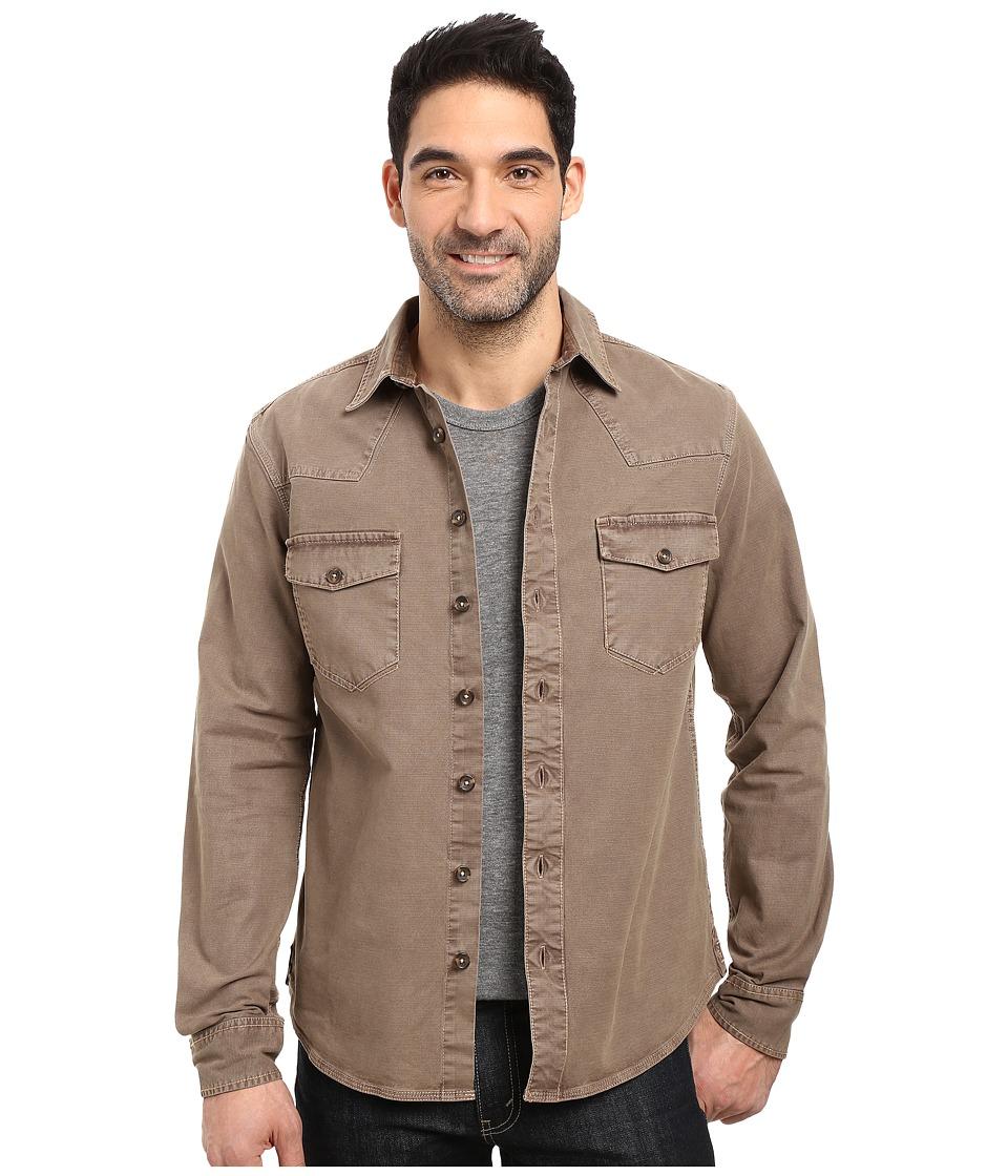 Ecoths - Brock Overshirt (Walnut) Men's Clothing