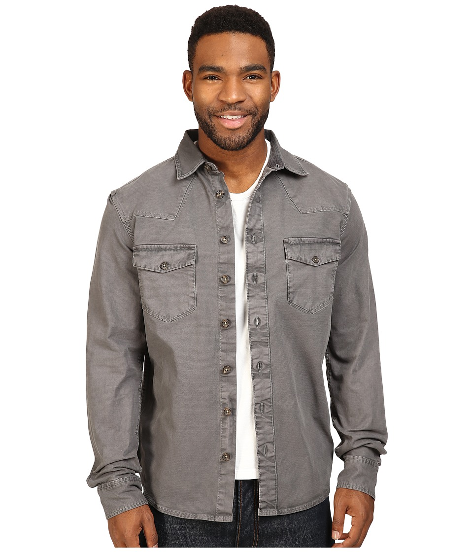 Ecoths - Brock Overshirt (Smoked Pearl) Men's Clothing