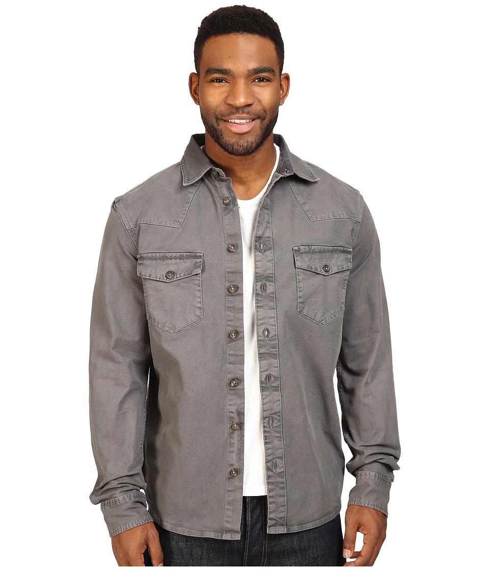 Ecoths - Brock Overshirt (Smoked Pearl) Men's Clothing