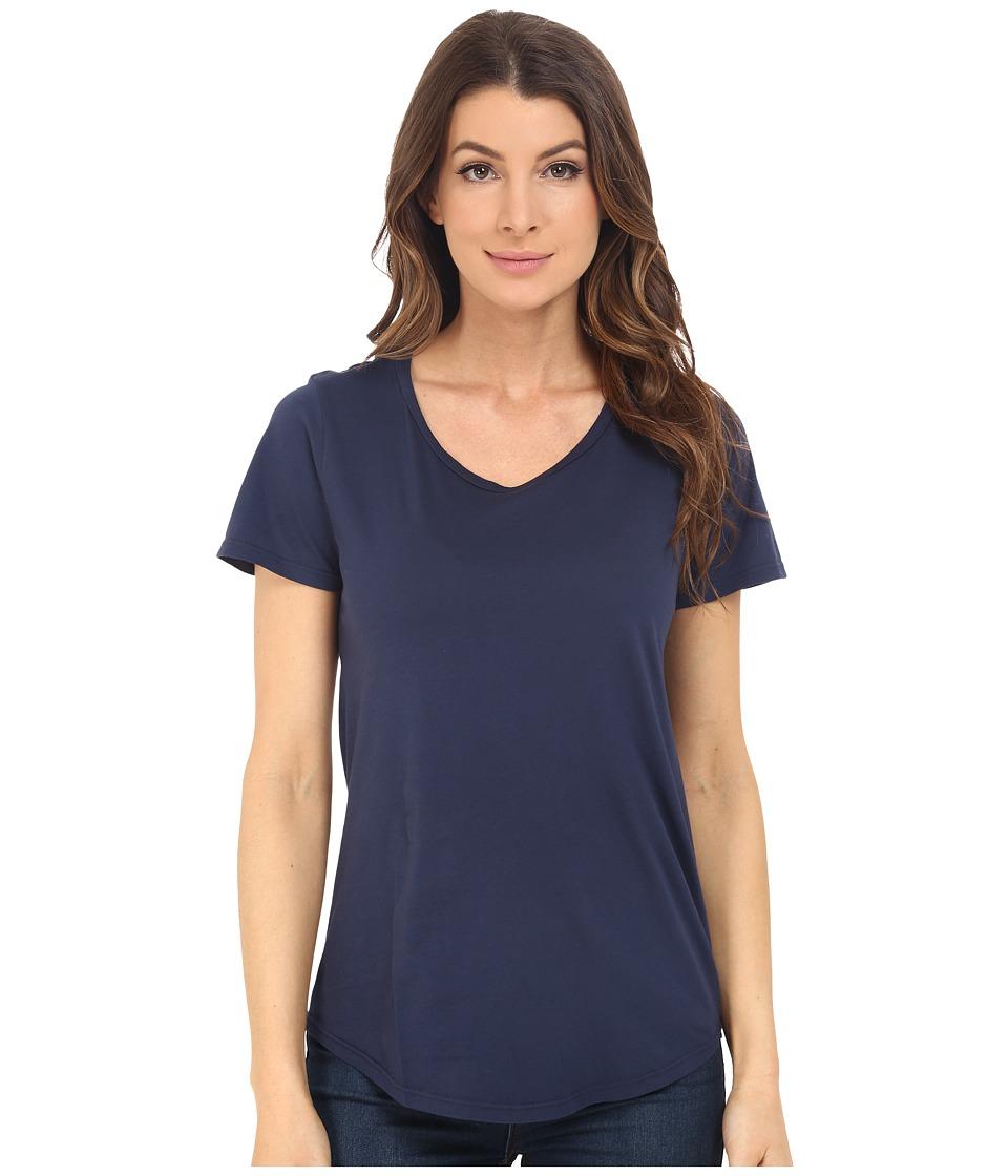 The Beginning Of - Effie Perfect Fit Tee (Indigo) Women's T Shirt