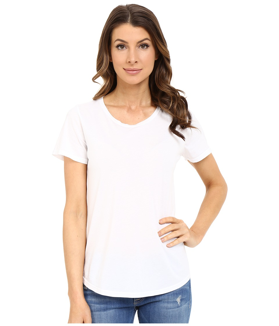 The Beginning Of - Effie Perfect Fit Tee (White) Women's T Shirt