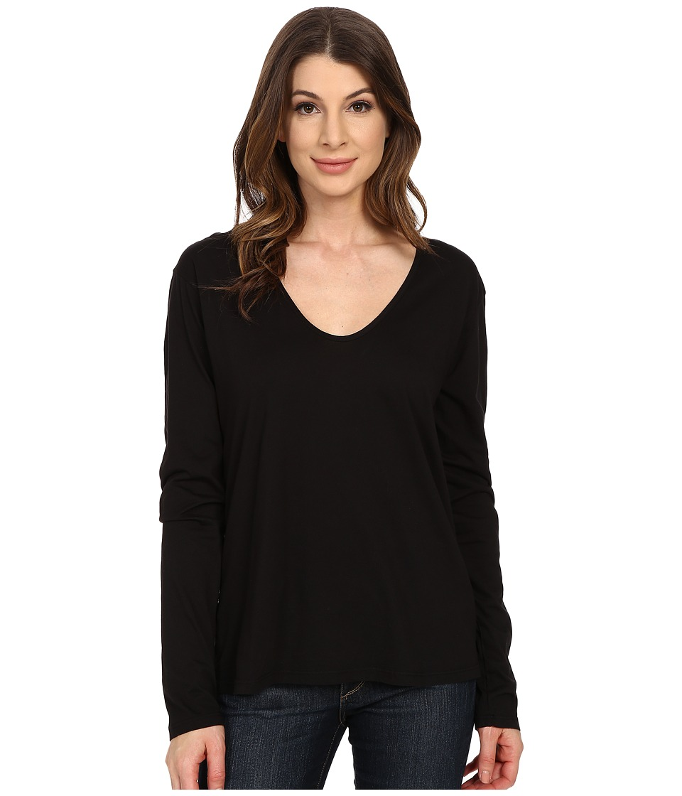 The Beginning Of - Butina Long Sleeve Tee (Black) Women's T Shirt