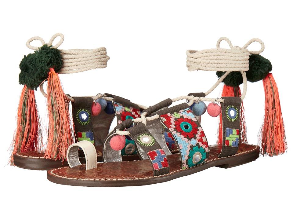 Sam Edelman - Gretchen (Modern Ivory Vaquero Saddle Leather) Women's Sandals