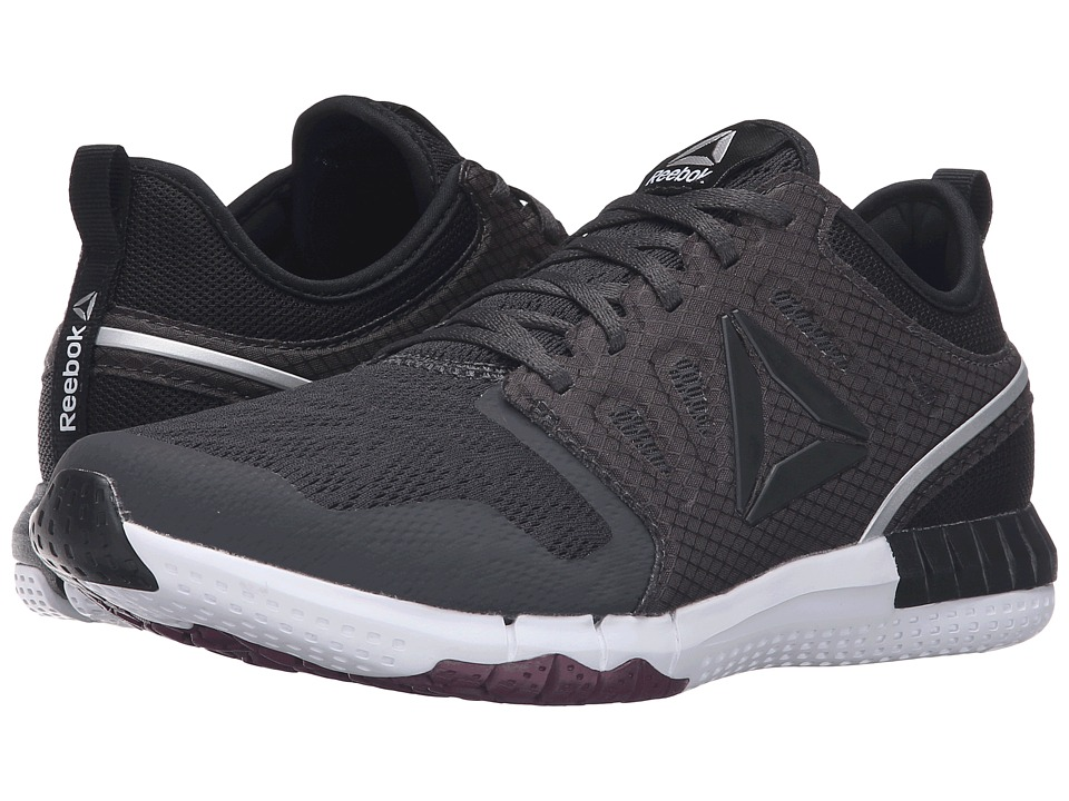 Reebok - ZPrint 3D (Coal/Black/Rebel Berry/Silver Metallic/White) Women's Running Shoes