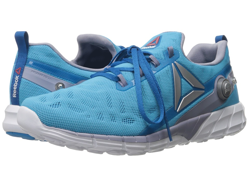Reebok - ZPump Fusion 2.5 (Instinct Blue/Wild Blue/Purple Fog/Silver Metallic/White) Women's Running Shoes
