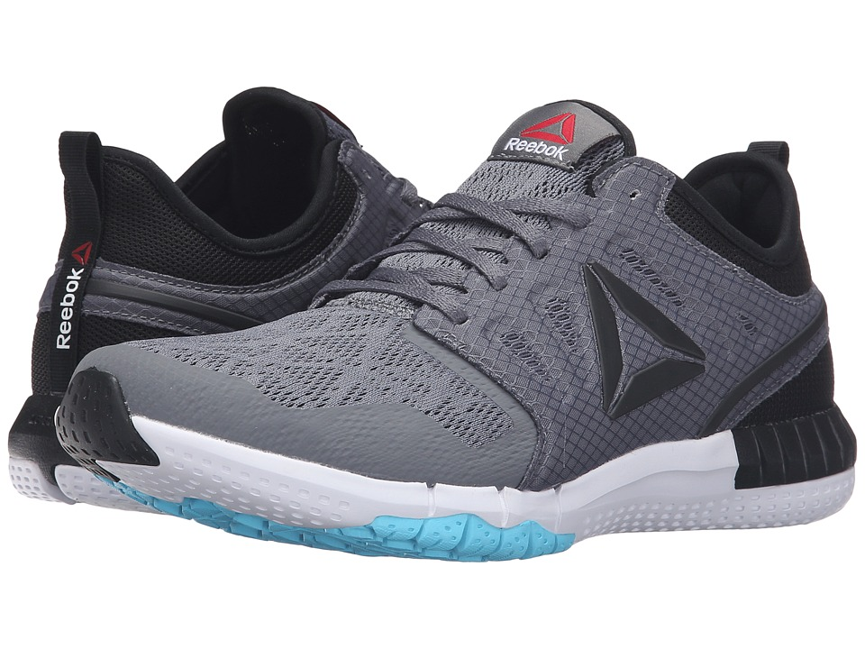 Reebok ZPrint 3D (Alloy/Black/White/Crisp Blue) Women
