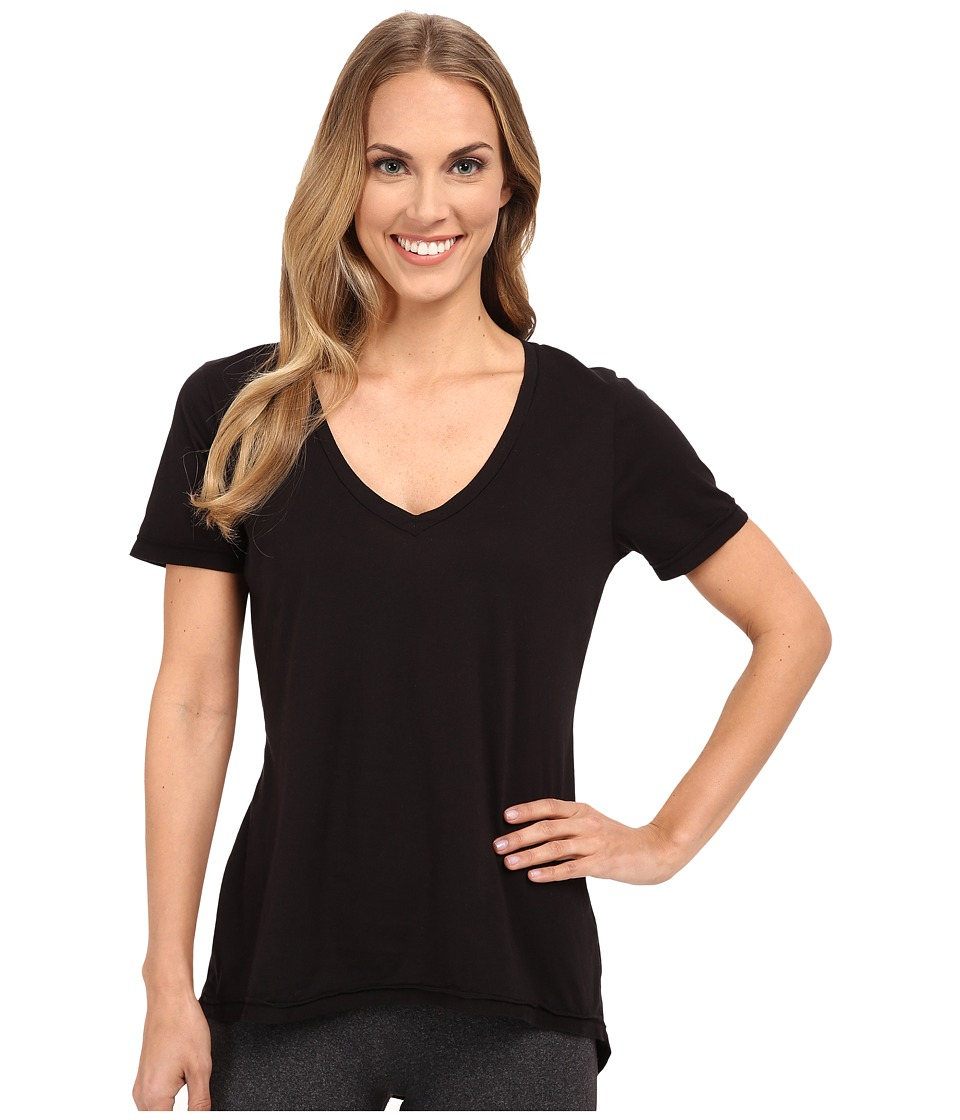 The Beginning Of - Adele Relaxed Curved Hem Tee (Black) Women's T Shirt