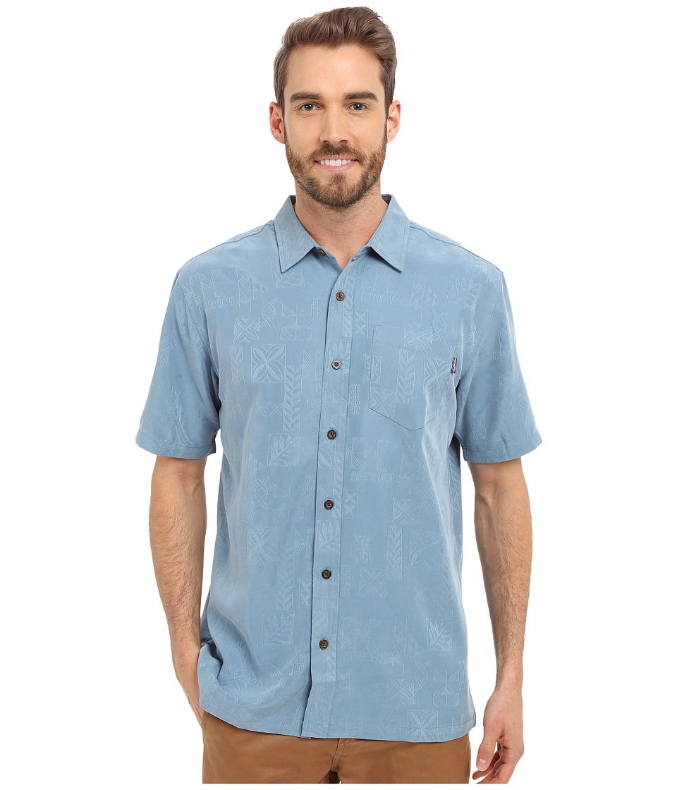 Jack O'Neill - Ohana Wovens (Pro Blue) Men's Short Sleeve Button Up