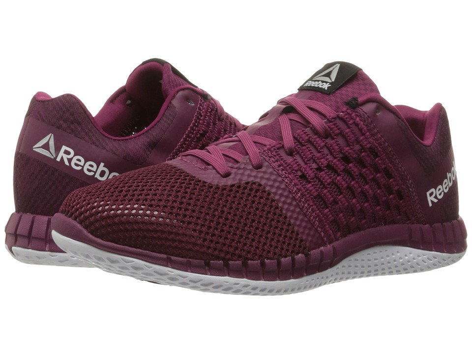 Reebok - ZPrint Run Hazard GP (Rebel Berry/Mystic Maroon/White) Women's Running Shoes