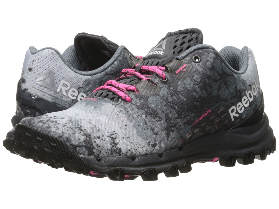 Reebok - All Terrain Thrill (Ash Grey/Asteroid Dust/Poison Pink/Cloud Grey/Black/Silver) Women's Climbing Shoes