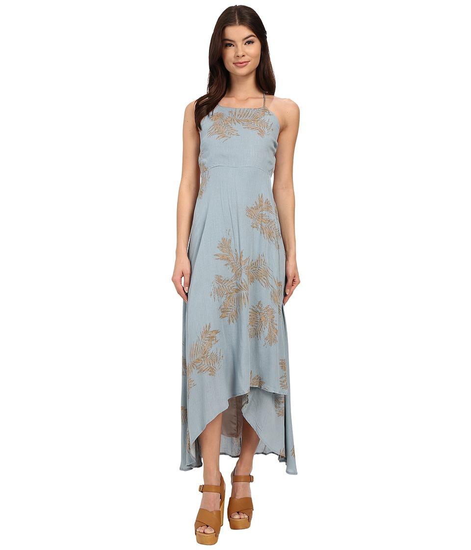 Brigitte Bailey - Olivia Printed Dress (Teal) Women's Dress
