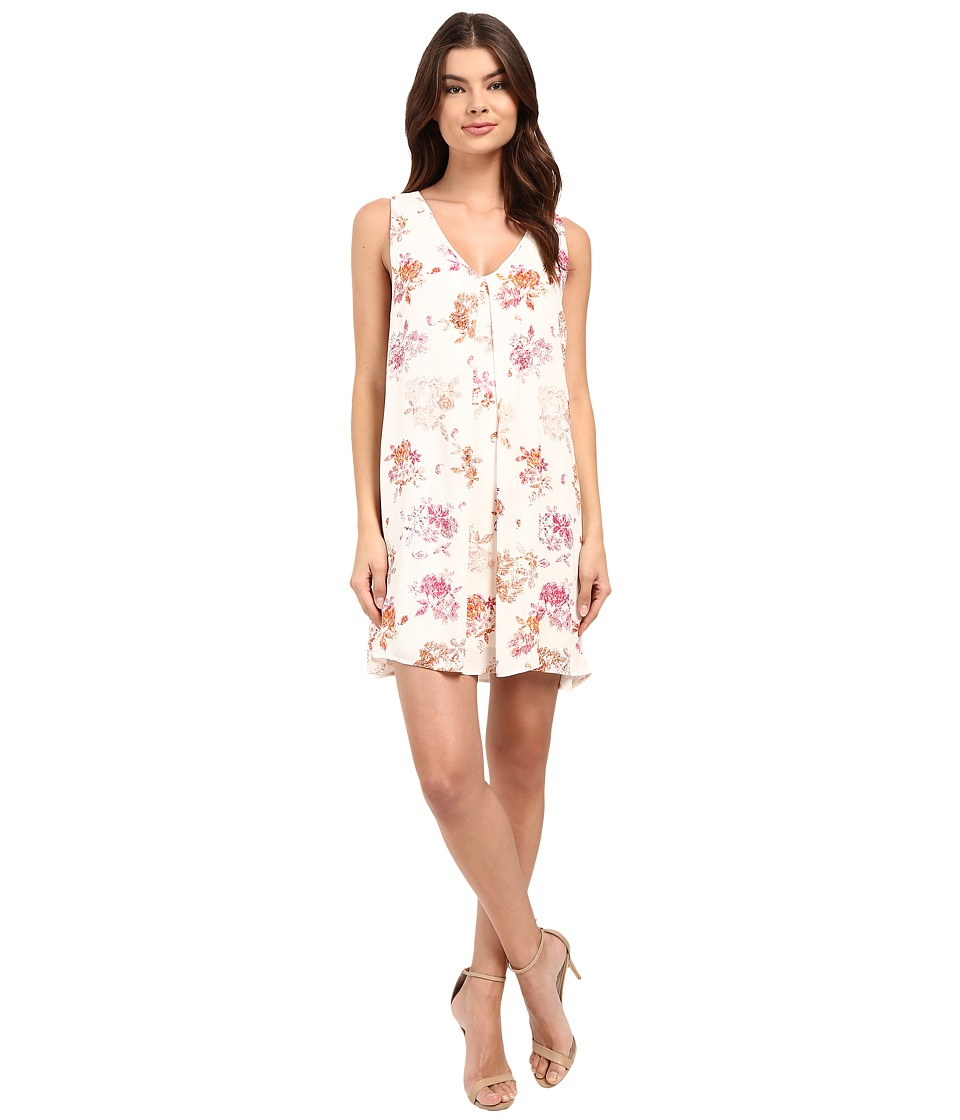 Brigitte Bailey - Glo Floral Shift Dress (Ivory Floral) Women's Dress