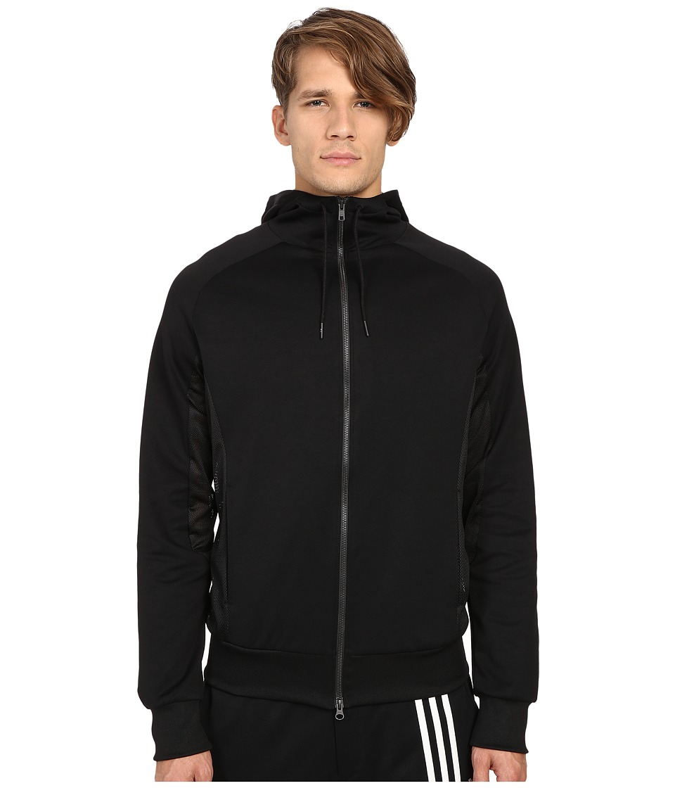 adidas Y-3 by Yohji Yamamoto - Fluid Track Jacket (Black) Men's Coat