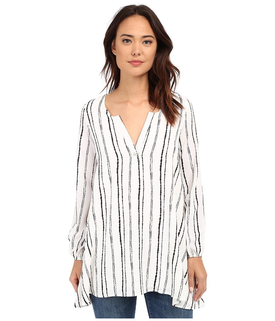 Brigitte Bailey - Seal Striped Blouse (Navy/White Stripe) Women's Blouse plus size,  plus size fashion plus size appare