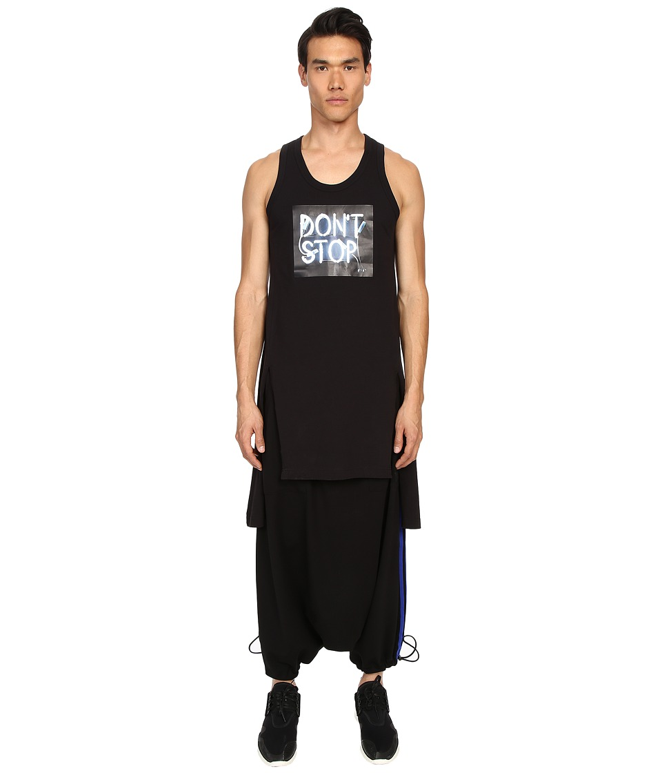 adidas Y-3 by Yohji Yamamoto - Don't Stop Tank Top (Black) Men's Sleeveless
