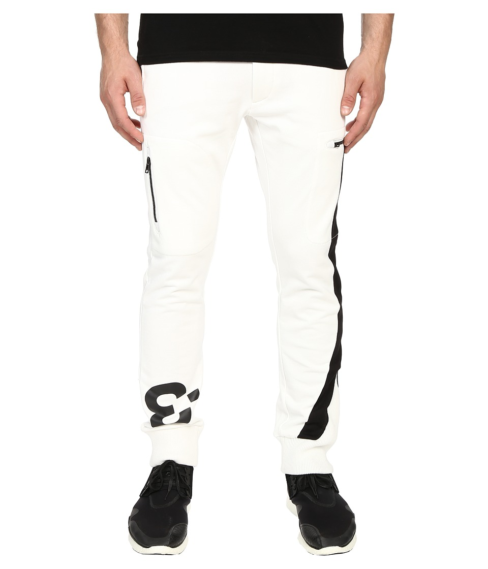 adidas Y-3 by Yohji Yamamoto - Logo Pants (Core White) Men's Casual Pants