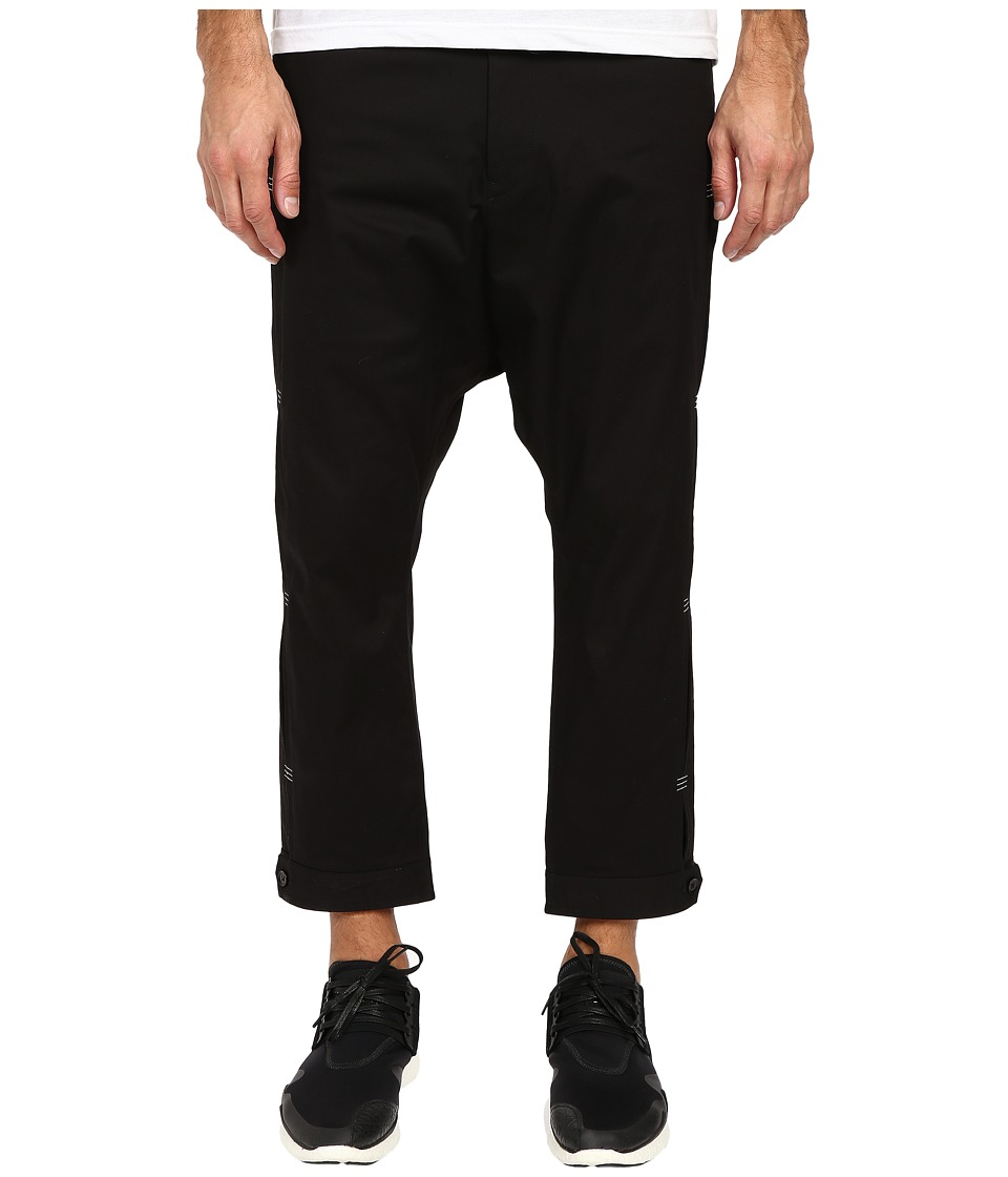 adidas Y-3 by Yohji Yamamoto - Bartack Pants (Black) Men's Casual Pants
