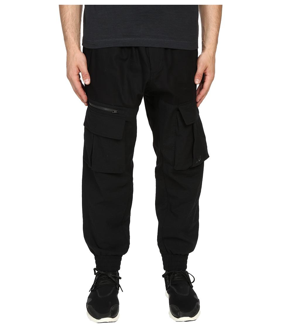 adidas Y-3 by Yohji Yamamoto - Airmesh Cargo (Black) Men's Casual Pants