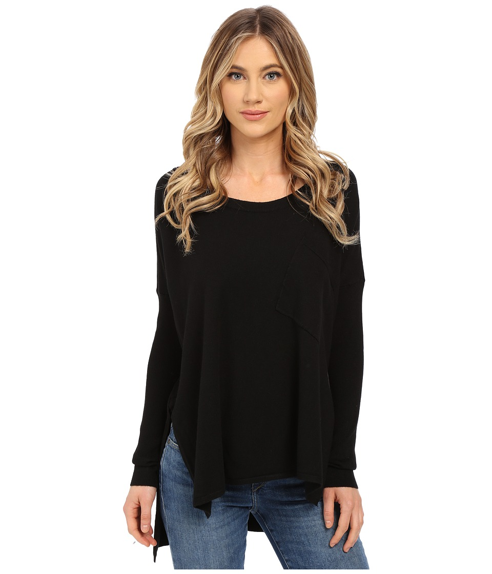 Culture Phit - Kameron Sweater with Pocket (Black) Women's Sweater