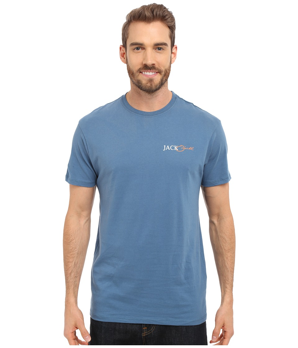 Jack O'Neill - Sword Short Sleeve Screen Tee (Dutch Blue) Men's T Shirt