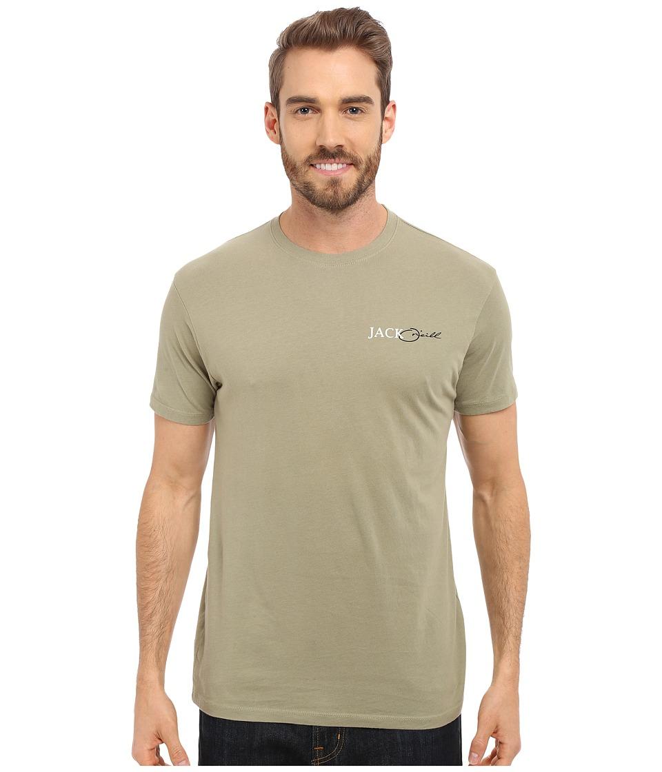 Jack O'Neill - Sword Short Sleeve Screen Tee (Aloe) Men's T Shirt