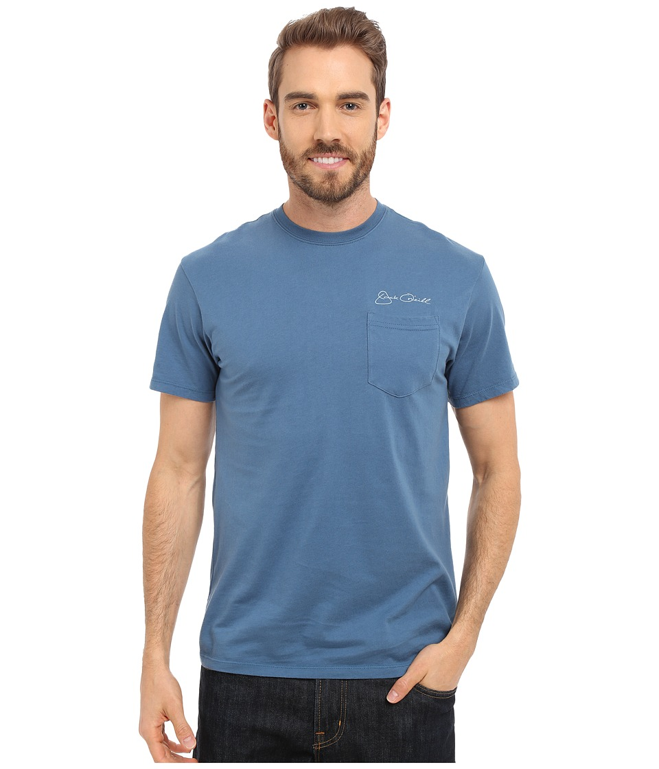 Jack O'Neill - Albacore Short Sleeve Screen Tee (Dutch Blue 1) Men's T Shirt