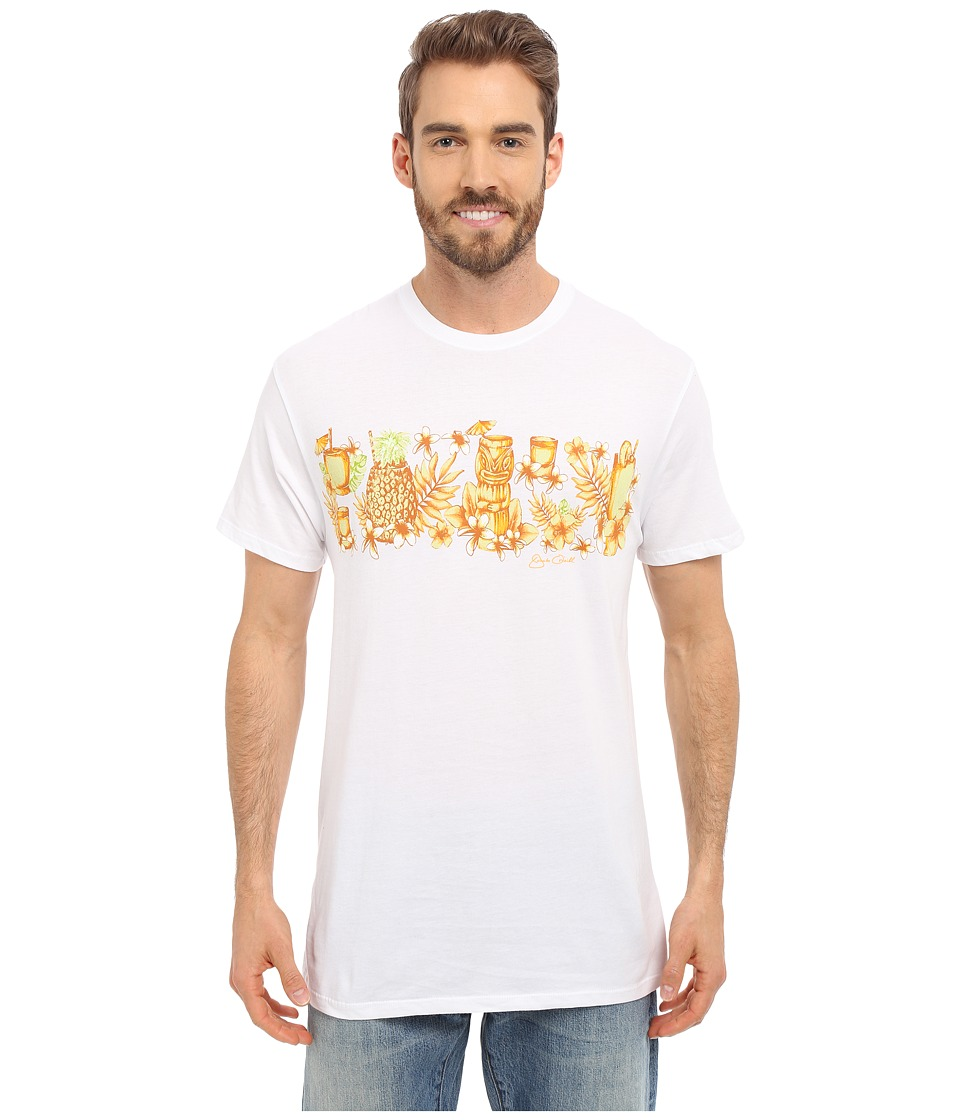 Jack O'Neill - Mixology Short Sleeve Screen Tee (White) Men's T Shirt