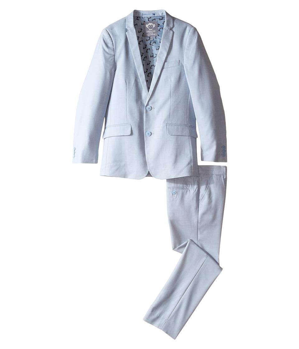 Appaman Kids - Two-Piece Mod Suit (Toddler/Little Kids/Big Kids) (Light Blue) Boy's Suits Sets