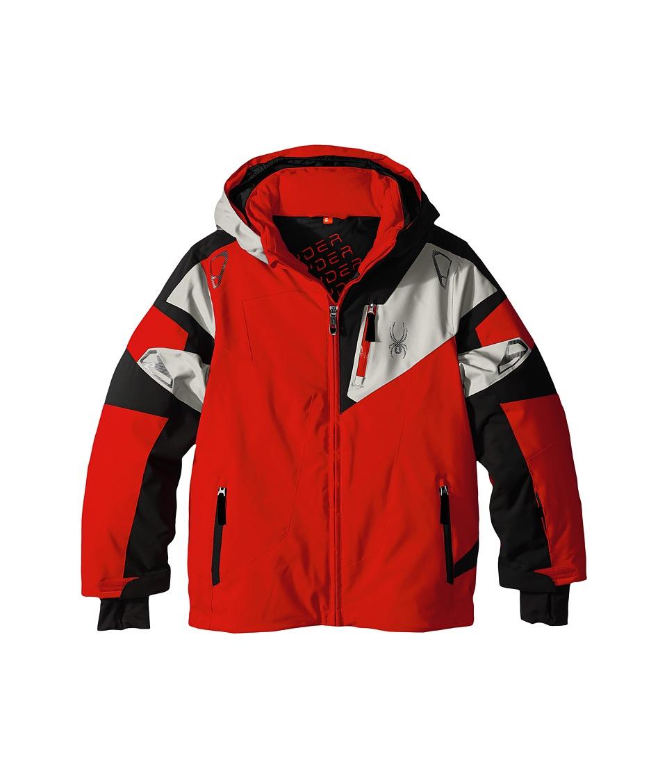 Spyder Kids - Leader Jacket (Big Kids) (Rage/Black/Cirrus) Boy's Coat