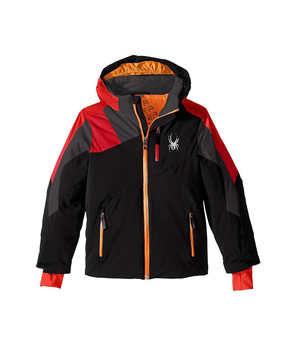 Spyder Kids - Avenger Jacket (Big Kid) (Black/Red/Rage) Boy's Coat
