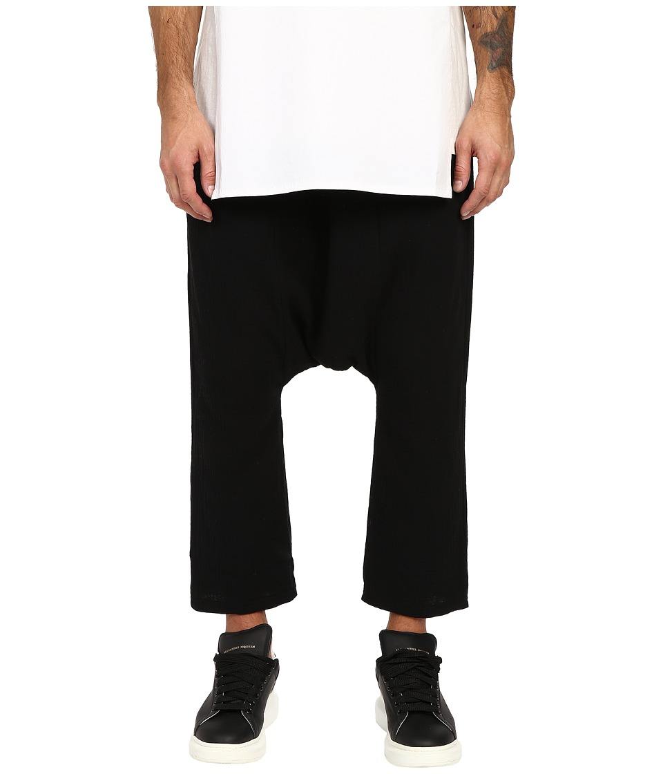 D.GNAK - Basic Baggy Pants (Black) Men's Casual Pants