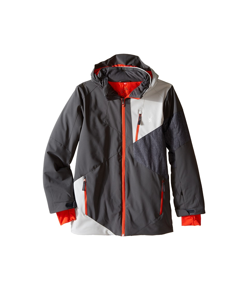 Spyder Kids - Enforcer Jacket (Big Kids) (Polar/Cirrus/Herringbone) Boy's Coat