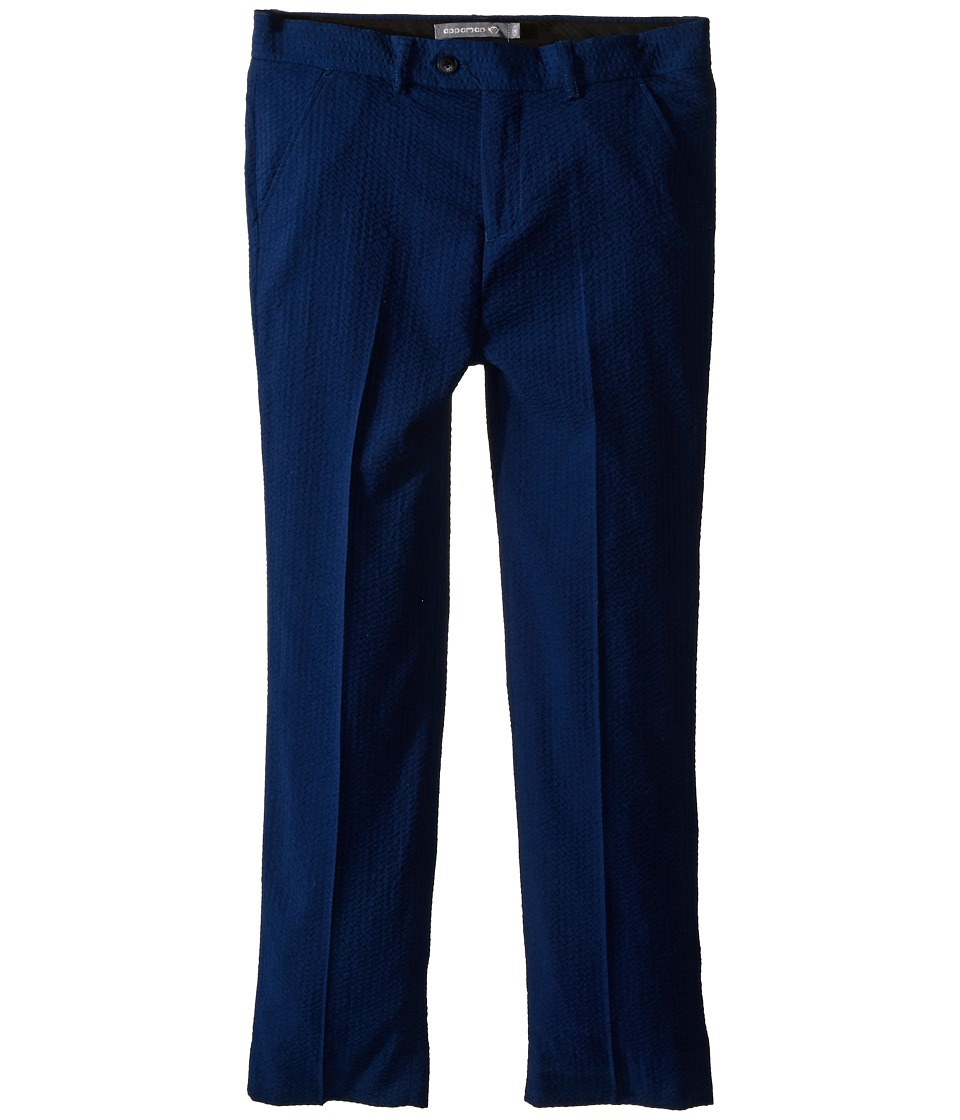 Appaman Kids - Mod Suit Pants (Toddler/Little Kids/Big Kids) (Navy Seersucker) Boy's Casual Pants