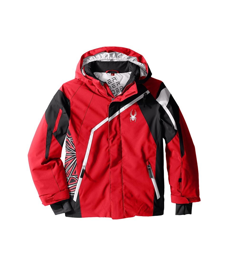 Spyder Kids - Challenger Jacket (Big Kids) (Red/Black/White) Boy's Coat