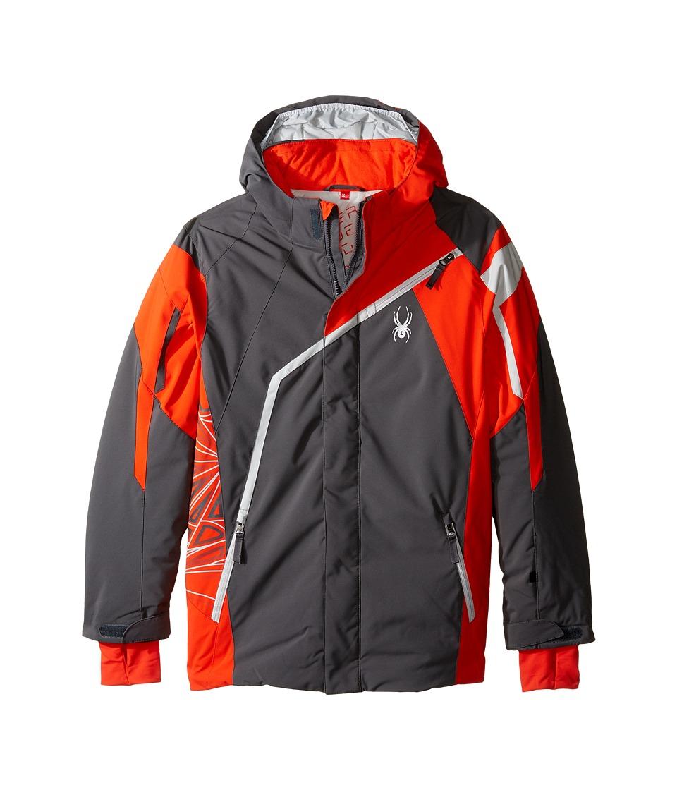 Spyder Kids - Challenger Jacket (Big Kids) (Polar/Rage/Cirrus) Boy's Coat